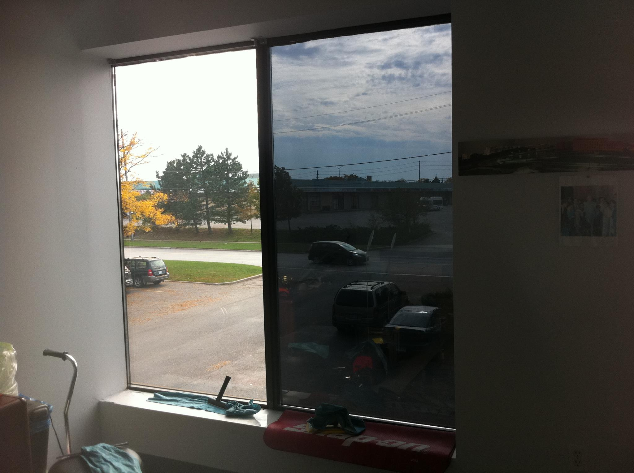 Toronto commercial window film auto links for Window tint film