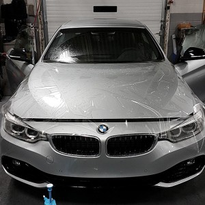 BMW Full Hood Protection